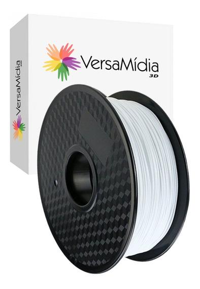 Filamento Pla Versamídia 3d Branco Impressão 3d