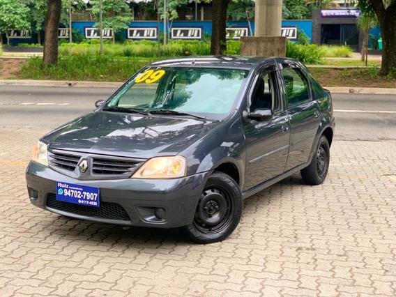Renault Logan Expression Flex Completo Sem Entrada