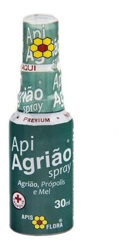 Spray Mel, Própolis E Agrião 30ml - Caixa Com 10 Unidades