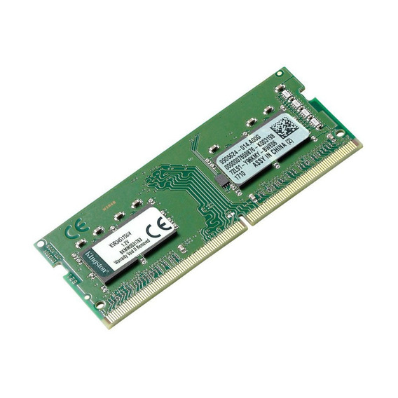 Memória Kingston 4gb 2400 Mhz Ddr4 P/ Notebook Kvr24s17s6/4