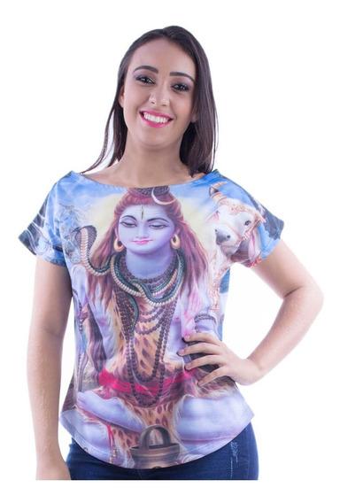 Camiseta Blusa Moda Deuses Indianos M - Shiva