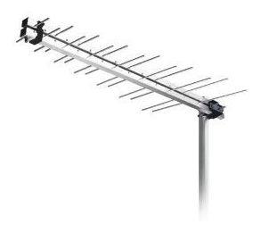 Antena Externa Aquario Lu-14p Log Periodica Digital