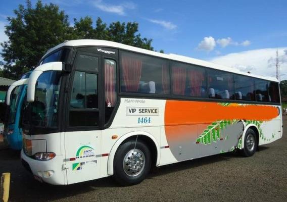 Ônibus Gv 1000 Volvo B 58 Só Turismo Ar Revisado E Impecável