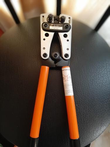 Imagen 1 de 1 de Prensadora De Terminal Para Cable Welding Naranja Sb-50b