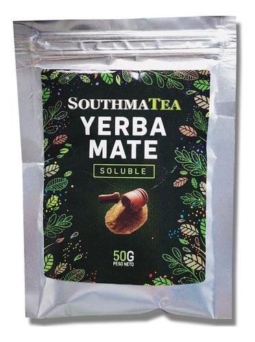 Imagen 1 de 1 de Yerba Mate Soluble Premium Southmatea X50gr - Antioxidante