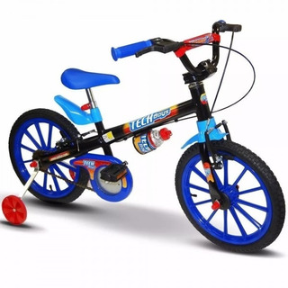 Bicicleta Infantil Masculina Aro 16 Tech Boys Nathor