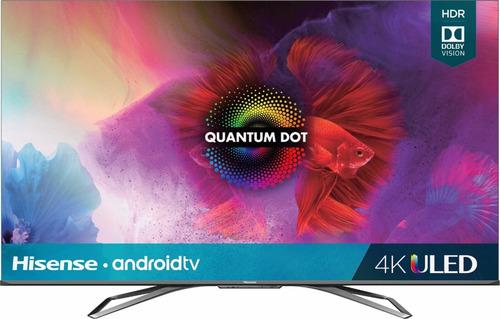 Imagen 1 de 8 de Hisense 55  Smart Tv Quantum Series 4k Uhd Android Uled