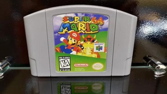 Fita / Cartucho Super Mario 64 Nintendo 64 N64 Salvando
