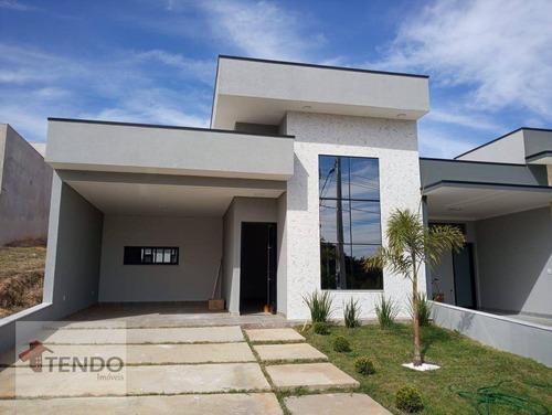 Imagem 1 de 30 de Imob02 - Casa 144 M² - Venda - 3 Dormitórios - 3 Suítes - Jardim Mantova - Indaiatuba/sp - Ca0831