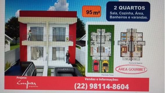 Casa 2 Quartos E 2 Banheiros Em Quissamã/rj