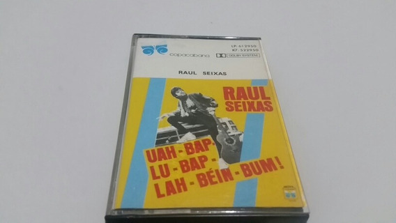 Raul Seixas -fita K7 Uah-bap-lu-bap-lah-béin-bum !-original