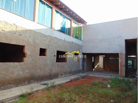 Casa Com 4 Dormitórios À Venda, 250 M² Por R$ 410.000 - Jardim Cândido Bertini - Santa Bárbara D
