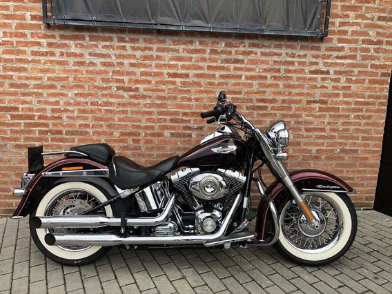 Harley Davidson Deluxe 2015 Vinho Impecável