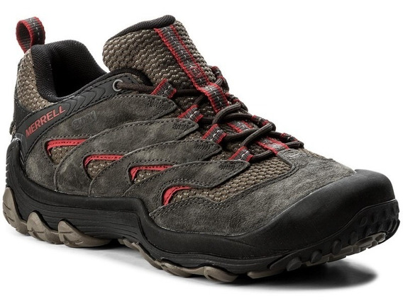 Zapatillas Hombre Trekking Merrell Cuero Premium