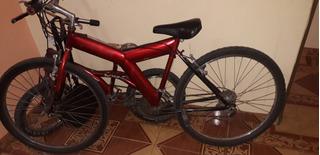 Bicicleta Cannondale Roja En Excelente Estado (es La Grande)