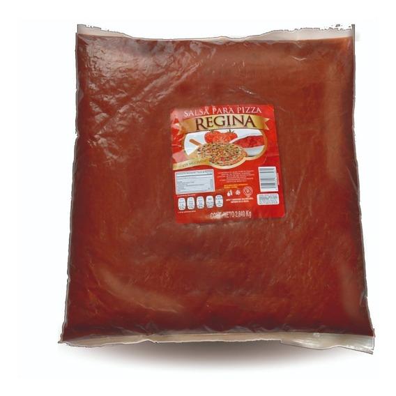 Salsa Para Pizza Regina Bolsa Mayoreo 6pza De 2840gr