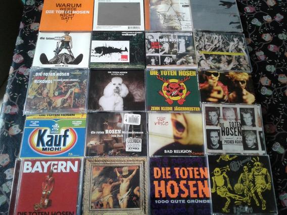 Die Toten Hosen - Lote 20 Cds Singles Importados - Ramones