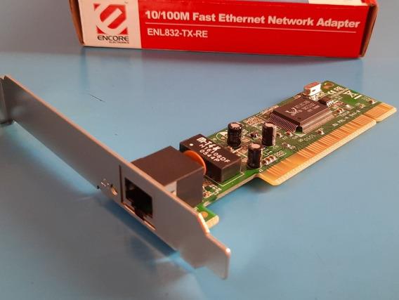 Placa Encore Pci Ethernet 10/100m - Enl832-tx-re