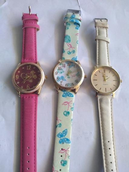 Kit 3 Relógios