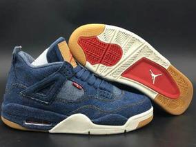 Tenis Nike Air Jordan 4 Retro Levis Jeans Original