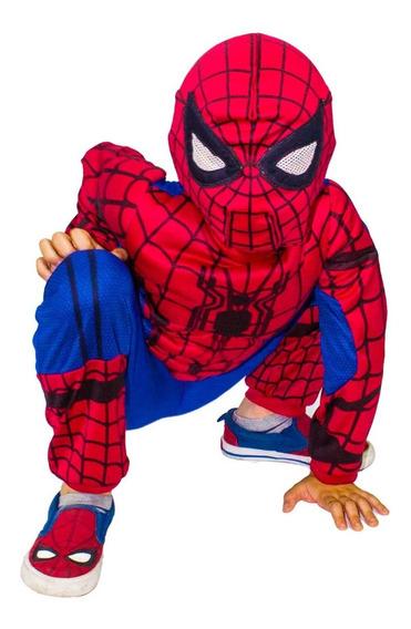 Disfraz De Spiderman Para Niños - Hombre Araña