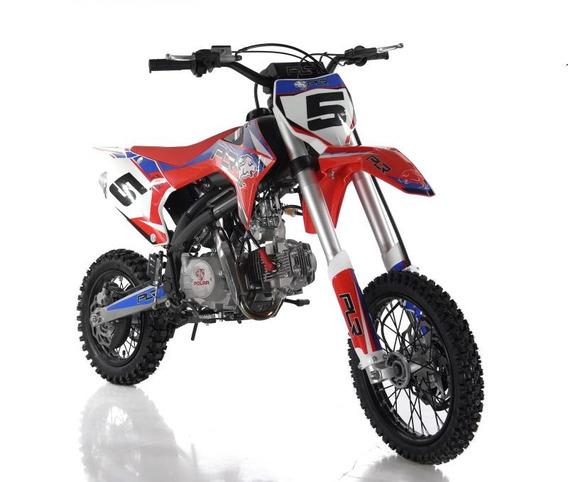 Motos Motocross Pitbike Niños Adultos Polar 125 Cc Open