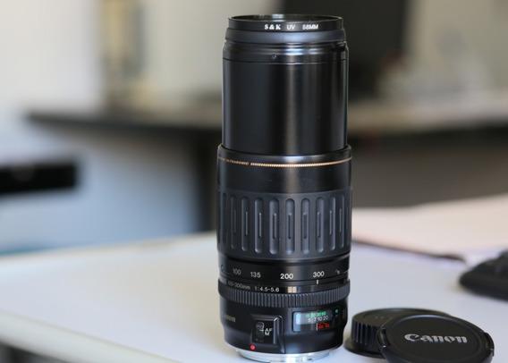 Lente Canon Ef 100-300mm Novíssima!
