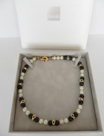 Marca Misaki Collar De Perlas Para Dama Muy Lindo.