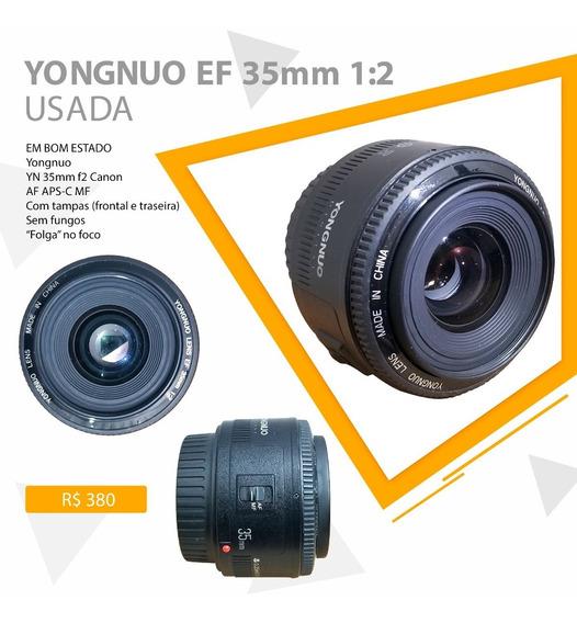Yongnuo Lens Ef 35mm 1:2 Usada