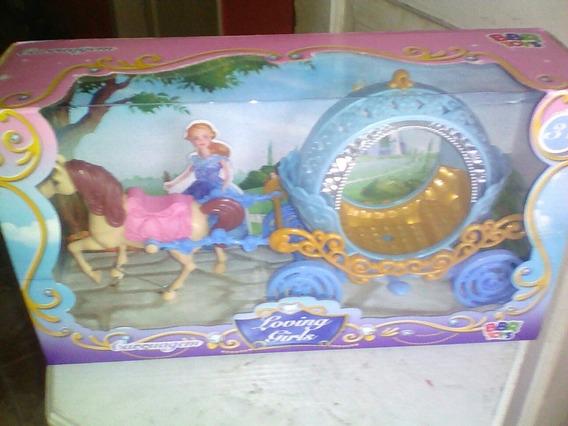Carruagem Mini Para Boneca Loving Girls 30cm