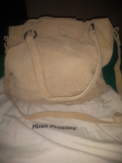 Cartera Y Nusseser Nobuck Huss Puppies. Impecable