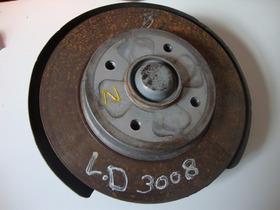 Cubo Da Roda Eixo Traseiro L-d Do Peugeot 3008 2012