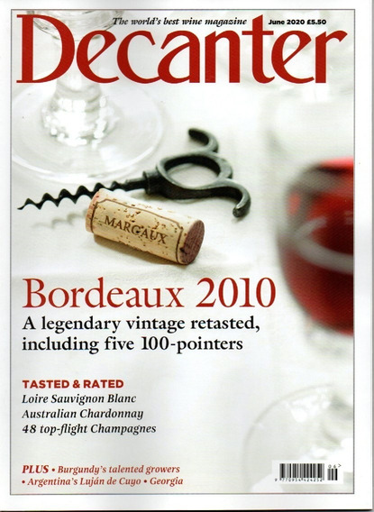 Decanter Revista Uk - Assinatura Revistas Avulsas Impressas