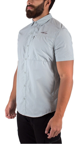 Camisa Hombre Terranova M/c Montagne S/rap. Trekking Pesca