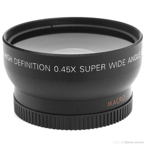 Lente 0,45 X 52mm Grande Angular Macro Hd Nikon D3200 D5100