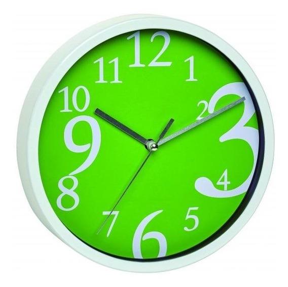 Relógio De Parede Verde Números Grandes Alemão Tfa