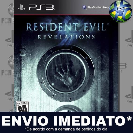Resident Evil Revelations Ps3 Psn Jogo Em Promoção Play 3