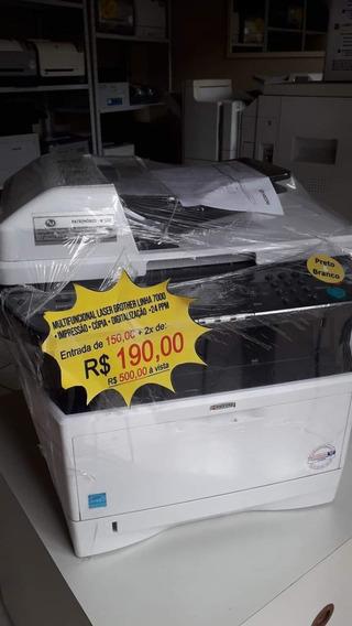 Impressora Multifuncional Laser Brother Mfc-7440n