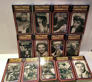 Cine Hollywood Cronicas 13 Vhs Originales Sobre Como Se Hizo