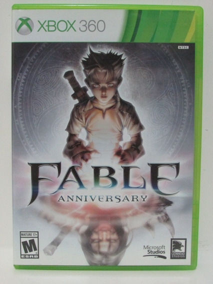 Fable Anniversary - Game Xbox 360 Original Mídia Física