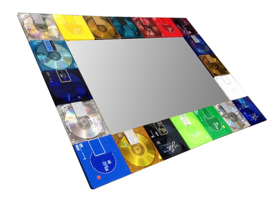 Quadro / Moldura Customizada - Disketes Antigos