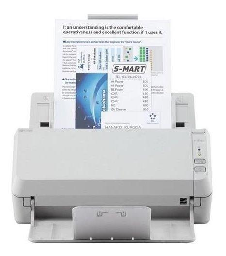 Scanner Fujitsu Sp1120 Duplex Colorido 300dpi A4 Usb