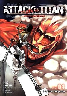 Manga, Attack On Titan N° 1 / Hajime Isayama