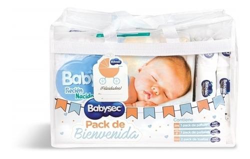 Pack Babysec Bienvenida Ideal Para Regalo