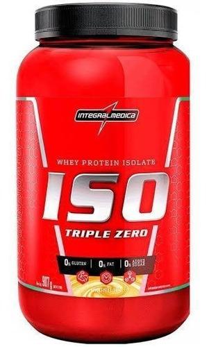 Iso Triple Zero Intregral Médica | 100% Whey Isolado (900g)