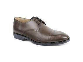 Sapato Social Masculino Derby Sandro Moscoloni Astori Marrom
