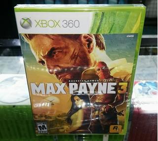 Max Payne 3 Juegazo De Xbox 360 Nuevo (hit Games Shop)