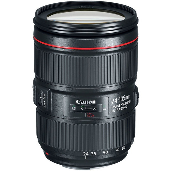 Lente Canon Ef 24-105mm F/4l Is Ii Usm Nota Fiscal