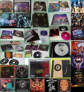 Cds Death, Black, Thrash, Rock Metal Lotes Colección Lp