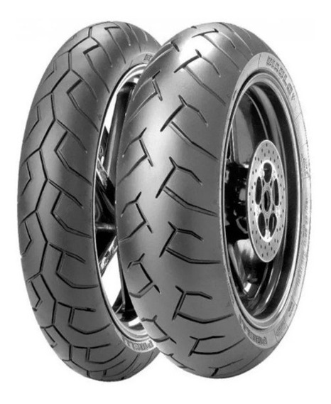 Par Pneu Cb500x Cb500f 120/70-17 + 160/60-17 Pirelli Diablo